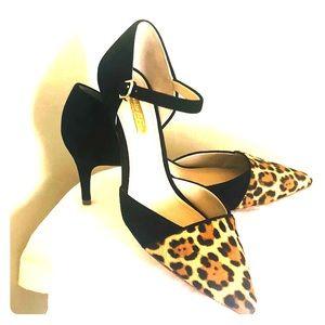 Louise et Cie leopard pumps